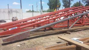 Structura metalica acoperis hala depozitare