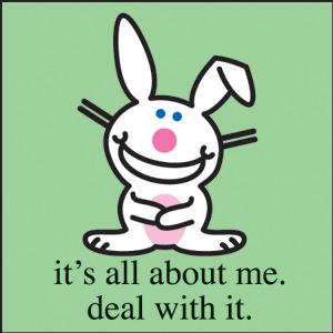 happy bunny me