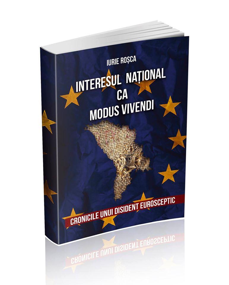 copertă carte Cronicile unui disident eurosceptic
