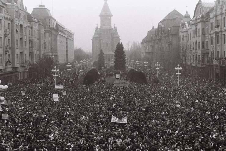 Timișorenii, uniți de un singur lucru: revolta față de regimul Ceaușescu