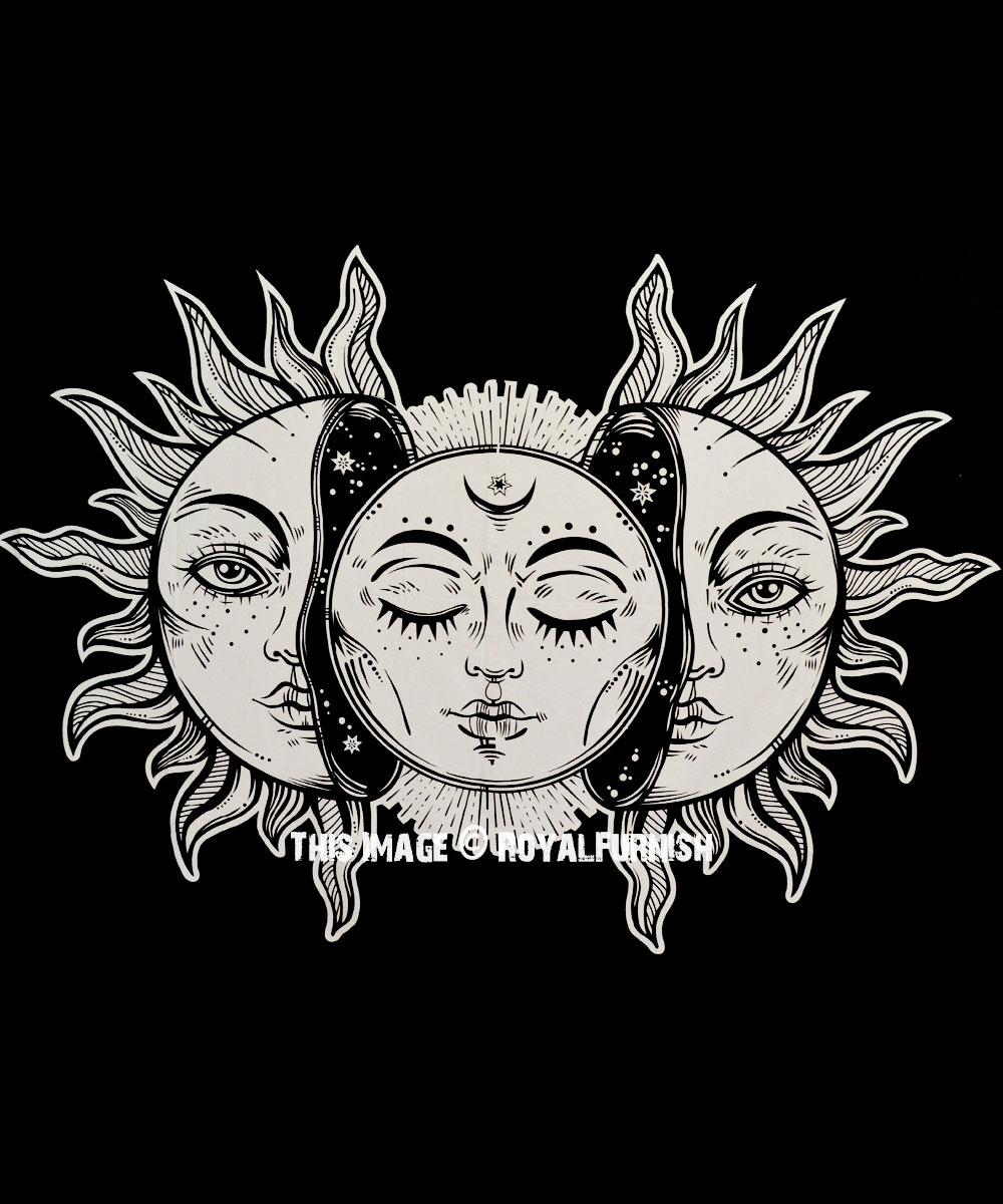Soarele, Luna, Soarele negru, Luna neagră şi Nodurile lunare formează infrastructura personalităţii